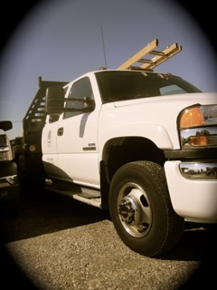commercial roofing contractor spokane truck